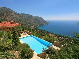 La Varangue- Bel appart -villa 40m2 , 2 pièces vue mer piscine chauffée