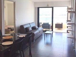 Appartement pour des vacances en pleine liberte - vue mer acces direct plage