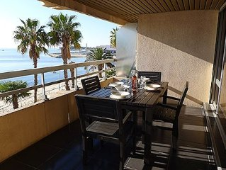 Large studio 38m2 sea view + terrace of 12m2 with
