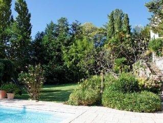 Villa d'architecte vue dominante- Pool house, pisc securisee, jacuzzi