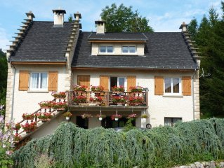 6 people furnished apartment in a typical house in the Vercors