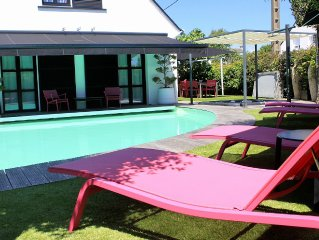 Magnifique villa idéalement située avec piscine, Spa et 8 vélos électriques