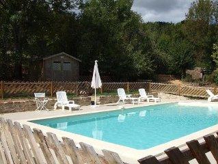 Maison de campagne avec piscine privee/ Promotion de 15% pour le mois de juillet