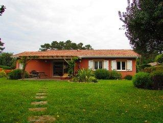 Belle maison avec jardin, calme et confortable