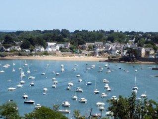 Porte ouverte vers le golfe du Morbihan, et vers les iles de l'ocean(Houat...)