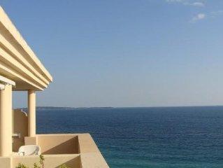 Très belle vue mer ,2 piscines,plage de sable à Cannes la Bocca