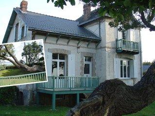 Villa Sorlock, familliale, de bord de mer sur la ville de Quimiac Mesquer