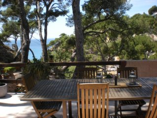 Villa in Provence, sea view, in the privacy of the Calanques