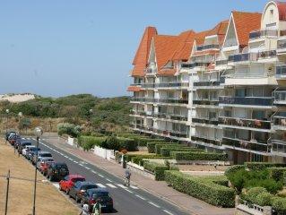 � Superbe appartement - 3 chambres - 6 pers - Vue mer et dunes - Wifi + Netflix
