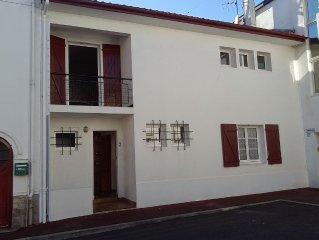 Maison classee 3* a St Jean de Luz WIFI 3 CHAMBRES 6 PERSONNES