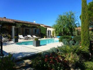 villa pour 6 personnes avec piscine