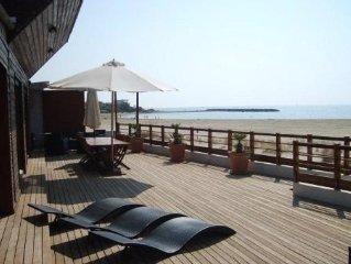 Maison en front de Mer(Cap d' Agde)  acces direct sur plage, avec piscine