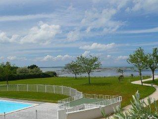 Appartement de standing acces direct a la plage piscine proche thalassotherapie