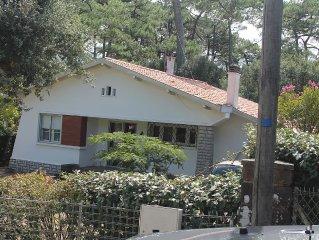Idéal pour familles: Agréable maison moderne  à deux pas du lac d'Hossegor