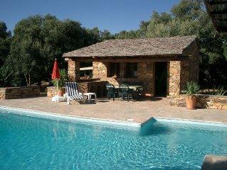 Villa Fiumicello,Saint Florent, Corse, Piscine Privée,  Aucun Voisin, Vacances