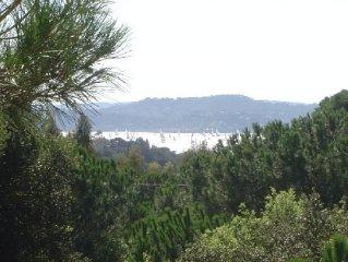 Gulf of Saint-Tropez, beautiful Provencal villa w