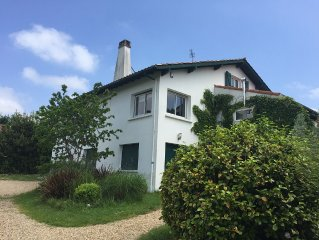 Appartement T3 avec jardin proche Biarritz
