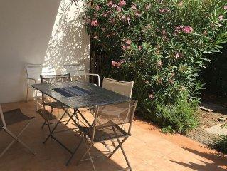 'A La Plage'  - Maison de charme avec terrasse et jardin à 10 mètre de la plage