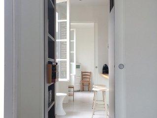 2 appartements vue mer ou village, residence classee - PLAGE a 2 pas, ascenseur