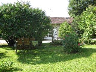 Maison de caractere restauree dans domaine viticole avec parc et jardin ombrages