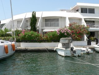 MARINA PORT CAMARGUE THE WATERFRONT WITH GARDEN 200M FROM THE BEACH