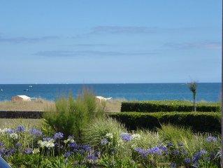 Carnac-Plages: appartement tout confort face à la mer