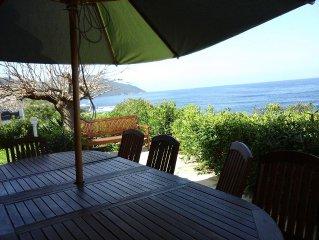 maison bord de mer,  avec jardin, terrasses, equipee pour recevoir 12 personnes