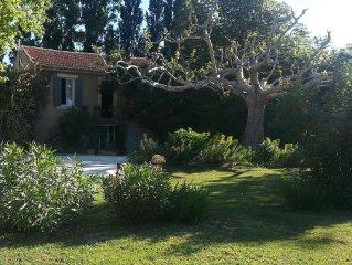 Vacances familiales dans le Luberon en Provence ( animaux acceptes)