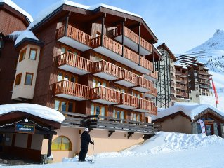 Belle-Plagne, 2 rooms 5 beds at the foot of the Paradiski area slopes