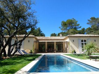 Villa elegante et confortable pour 8 personnes a 5 min d'Aix en Provence
