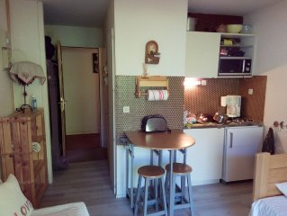 Studio fully equipped cottage on the ground floor