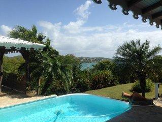 Villa confortable bord de mer avec piscine et sans vis à vis !