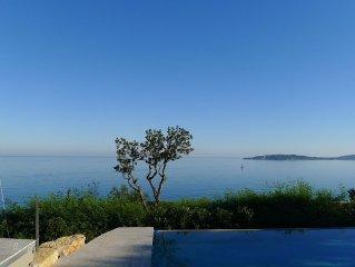 vue exceptionnelle sur le golf de Saint Tropez
