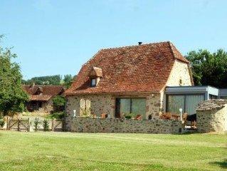 Grange Quercynoise de qualité, proche de Figeac, Rocamadour, St Cirq Lapopie