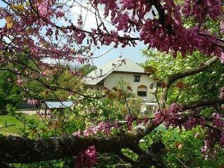 Gite  L'Ambrune 3 etoiles  de 65 m2, dans une ancienne ferme renovee avec