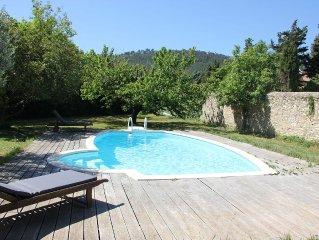 VILLA FIDELINE 3 chambres avec piscine a 10 min de Cassis (hameau de Roquefort)