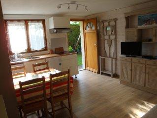 ARCACHON  Elégant appartement en rez-de-jardin de villa