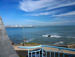 Appartement 2 pieces - Vue superbe sur plages et port de Croix de Vie - Balcon