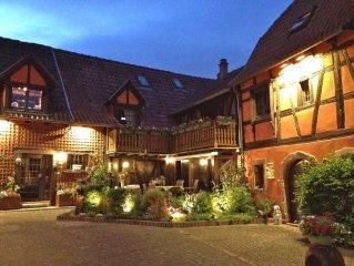 Maison de 1523  centre ville medievale prestations luxueuses 200 m2( 4 etoiles)