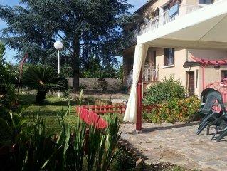 Rez de chaussee de villa a santa lucia di Moriani (corse) avec piscine privee