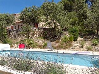 Villa 8 couchages avec superbe piscine