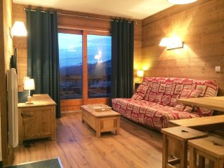 Apartment ,Direct access to the slopes,4-6 persons,35 m2,beautiful view,wifi