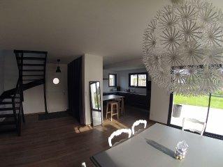 Maison récente à 800 mètres de la grande plage/casino/centre du Val André