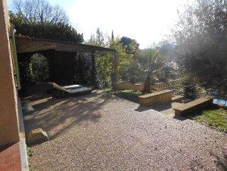 CASTILLON DU GARD / VILLA 4 chambres /Piscine privee sur terrain clos de 2000 m2