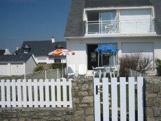 Maison avec 2 chambres et une superbe vue sur la mer et jardin