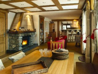 Chalet d'exception idealement situe