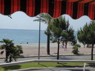 Tres Bel appartement 2 pieces de 55 mo Front de Mer pres Hippodrome Cote d'Azur