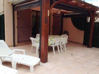 Maison de vacances dans Residence calme et verdoyante au centre d'Argeles-Plage