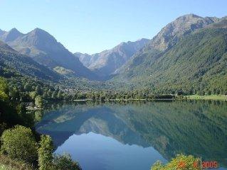 Maison de montagne dans une magnifique vallee avec de tres bonnes prestations