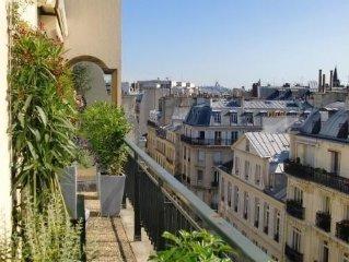 Paris 6e St germain des pres,  appartement grand standing, calme, terrasse